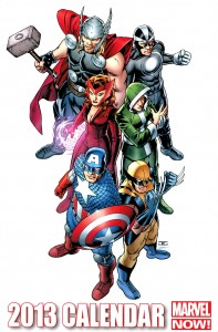 Download Marvel Calendar 2013