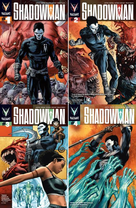 Download Shadowman (1-4 series)