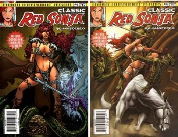 Download Classic Red Sonja: Remastered (1-4 series) Complete