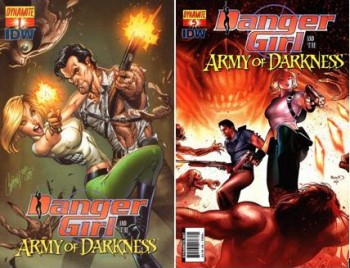 Download Danger Girl: Army Of Darkness (1-6 series) Complete