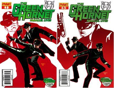 Download Green Hornet: Parallel Lives (1-5 series) Complete