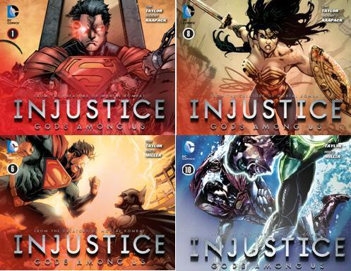 Download Injustice - Gods Among Us (1-36 series)