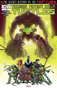 Download TMNT Secret History of the Foot Clan #4 (2013)