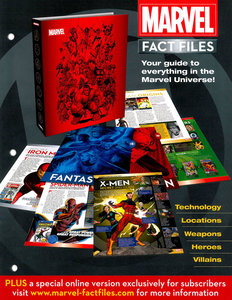 Download Marvel Fact Files #00 (promotional magazine) (2013)