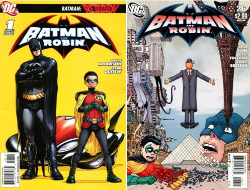 Download Batman and Robin (Volume 1) 1-26 Series