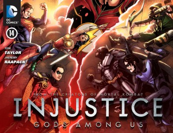 Download Injustice: Gods Among Us #14