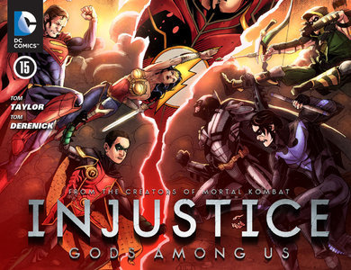 Download Injustice: Gods Among Us #15