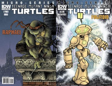 Download Teenage Mutant Ninja Turtles: Micro Series (1-8 series) complete