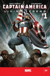 Download Captain America - Living Legend #01
