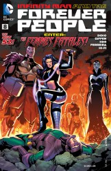 Download Infinity Man and the Forever People #8