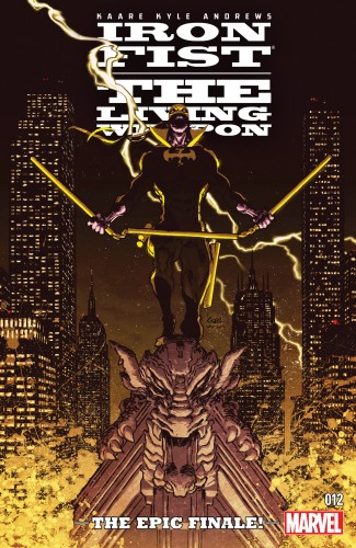 Download Iron Fist - The Living Weapon #12