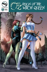 Grimm Fairy Tales Presents Oz Reign Of The Witch Queen #05