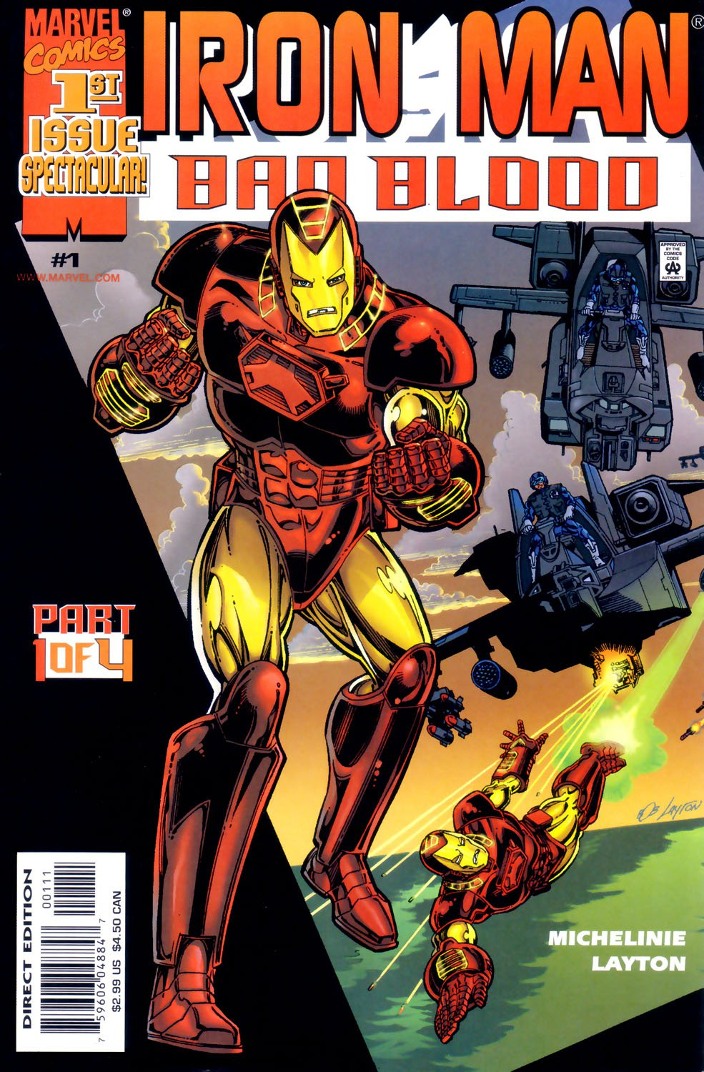 Iron Man Bad Blood  #1-4 Complete