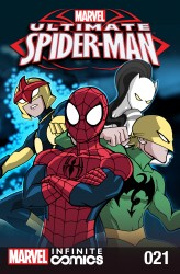 Ultimate Spider-Man Infinite Comic #21