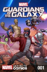 Download Marvel Universe Guardians of the Galaxy Infinite Comic #01