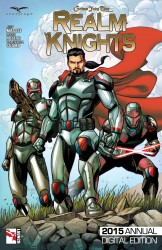 Grimm Fairy Tales Presents Realm Knights 2015 Annual