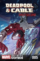 Deadpool & Cable - Split Second Infinite Comic #05
