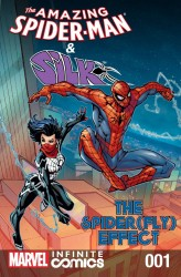 The Amazing Spider-Man and Silk - Spider Fly Effect Infinite Comic #1