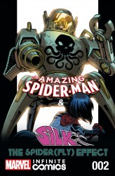 The Amazing Spider-Man and Silk - Spider Fly Effect Infinite Comic #2