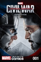 Marvel's Captain America - Civil War Prelude Infinite Comic #1