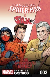 The Amazing Spider-Man and Silk - Spider Fly Effect Infinite Comic #3