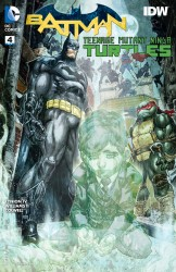 Download Batman - Teenage Mutant Ninja Turtles #4
