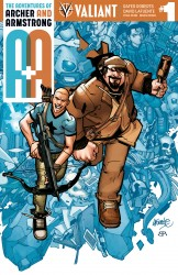 A&A - The Adventures of Archer & Armstrong #1