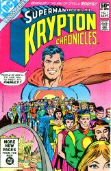 Krypton Chronicles #1-3 Complete