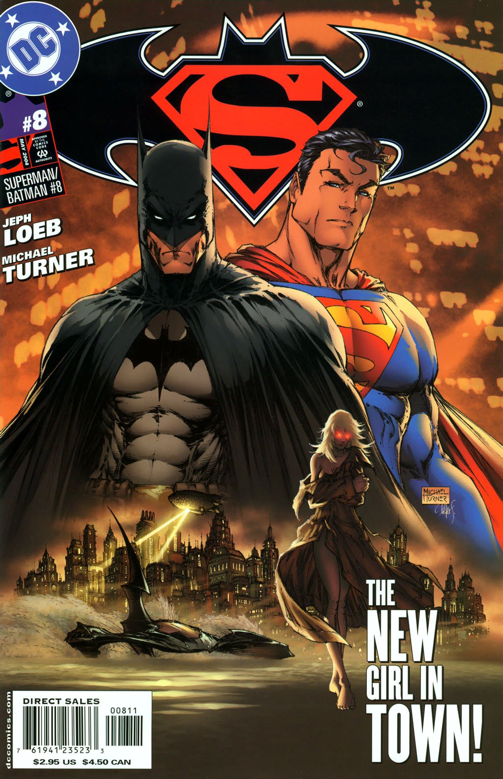 Superman vs. Batman: Supergirl #8-13 Complete