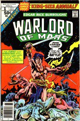 Download John Carter, Warlord of Mars Annual #1–3 Complete