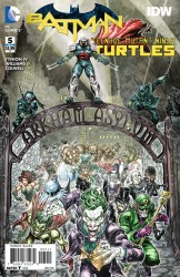 Download Batman - Teenage Mutant Ninja Turtles #5