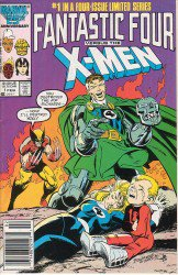 Fantastic Four Vs. X-men #1-4 Complete