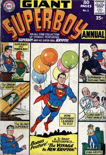 Download Superboy vol.1 Annual