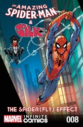 The Amazing Spider-Man and Silk - Spider Fly Effect Infinite Comic #8
