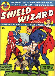 Shield-Wizard Comics #1-13 Complete
