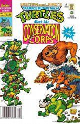 Teenage Mutant Ninja Turtles Meet the Conservation Corps