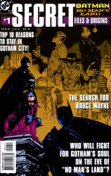 Batman  -No Man's Land Secret Files & Origins