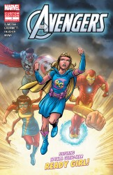 Download The Avengers Featuring Ready Girl #1