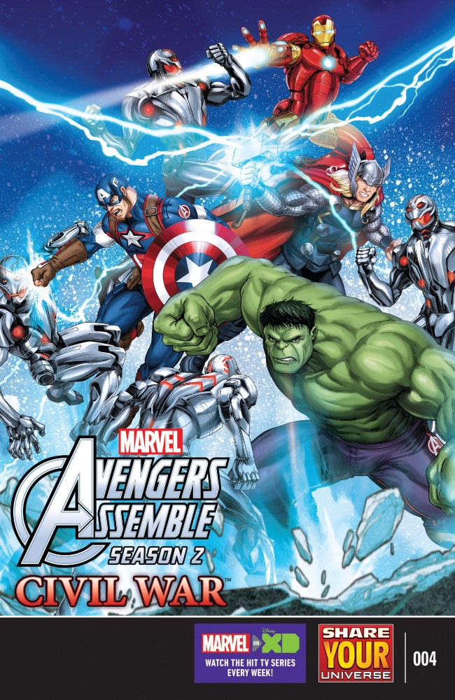 Marvel Universe Avengers Assemble - Civil War #4