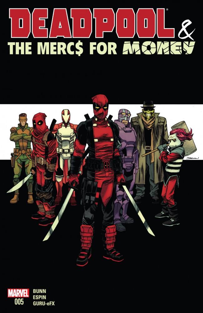 Download Deadpool & The Mercs For Money #5