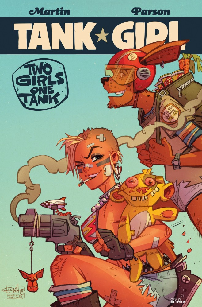 Tank Girl - Two Girls One Tank #02