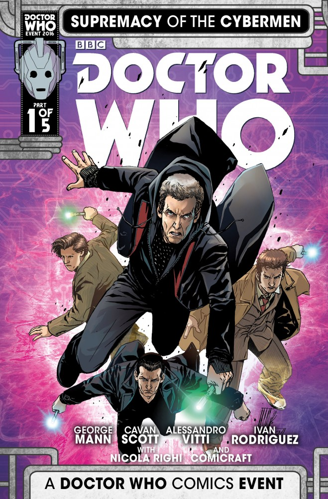 Doctor Who Supremacy Of The Cybermen #1