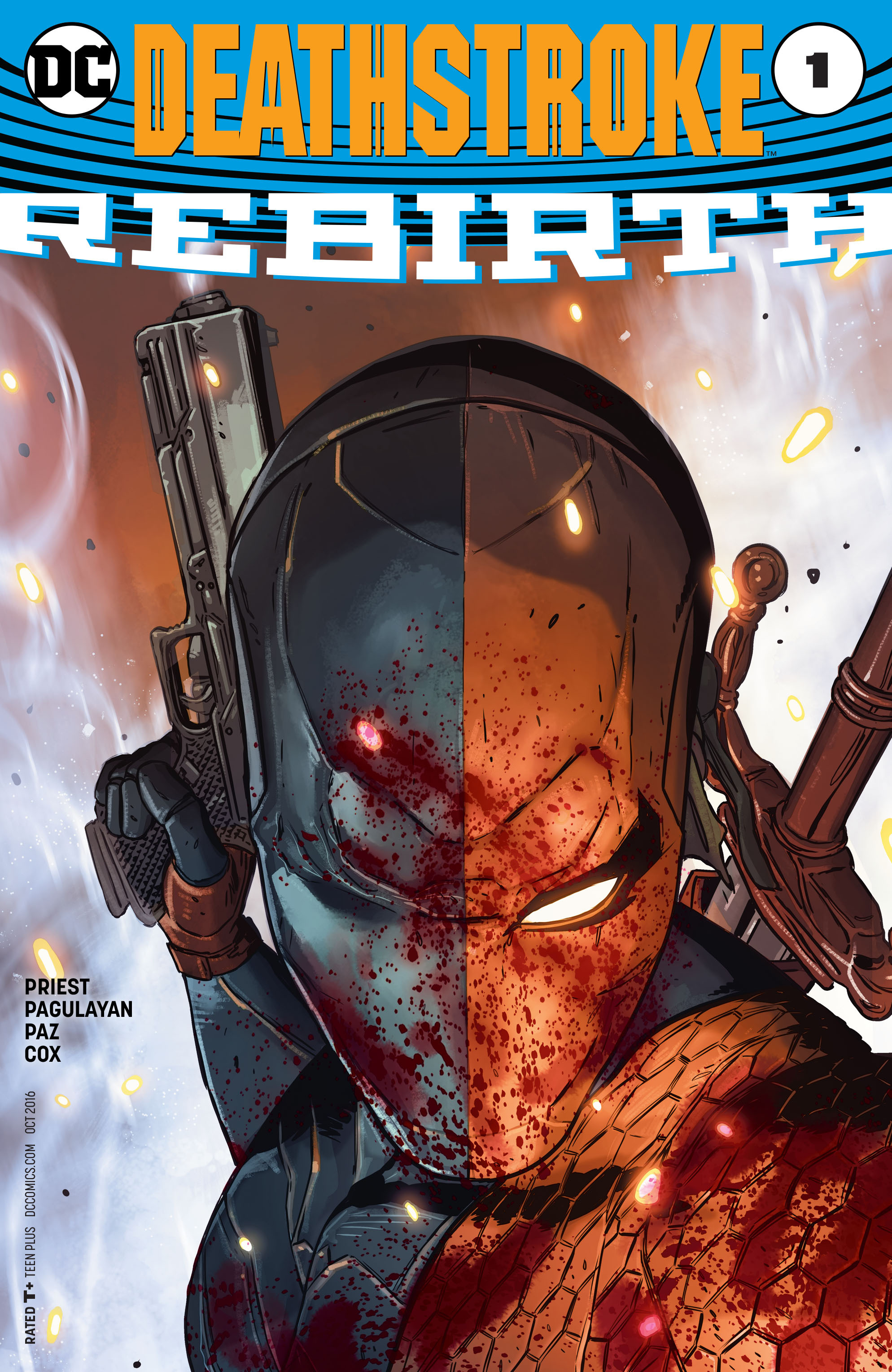 Deathstroke - Rebirth #1