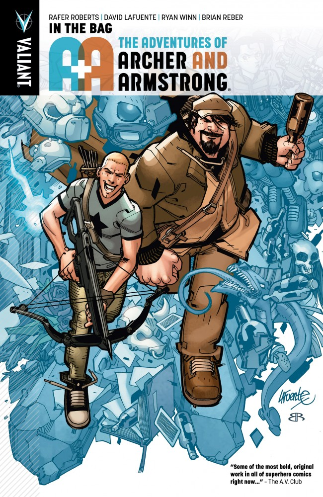 A&A - The Adventures of Archer & Armstrong Vol.1 - In the Bag