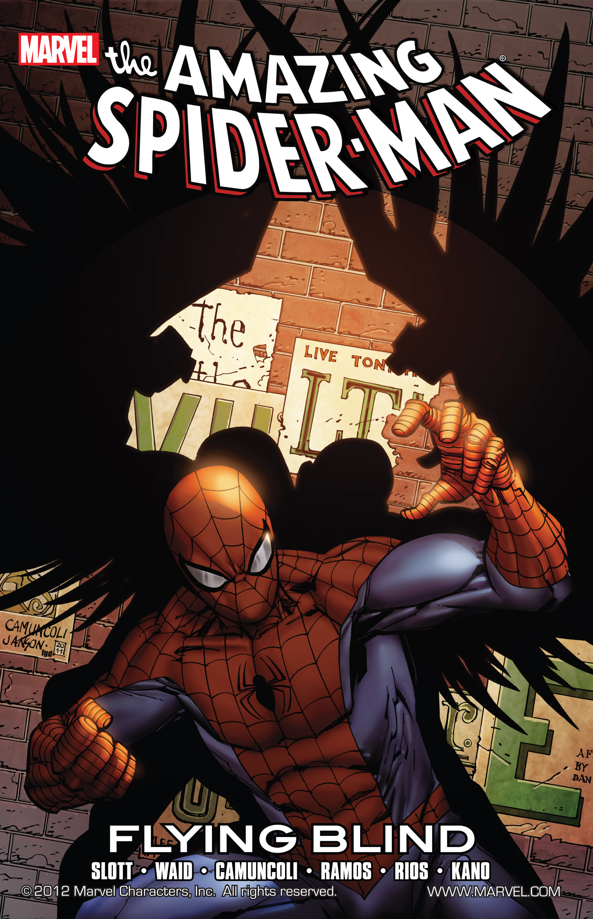 Spider-Man - Flying Blind #1