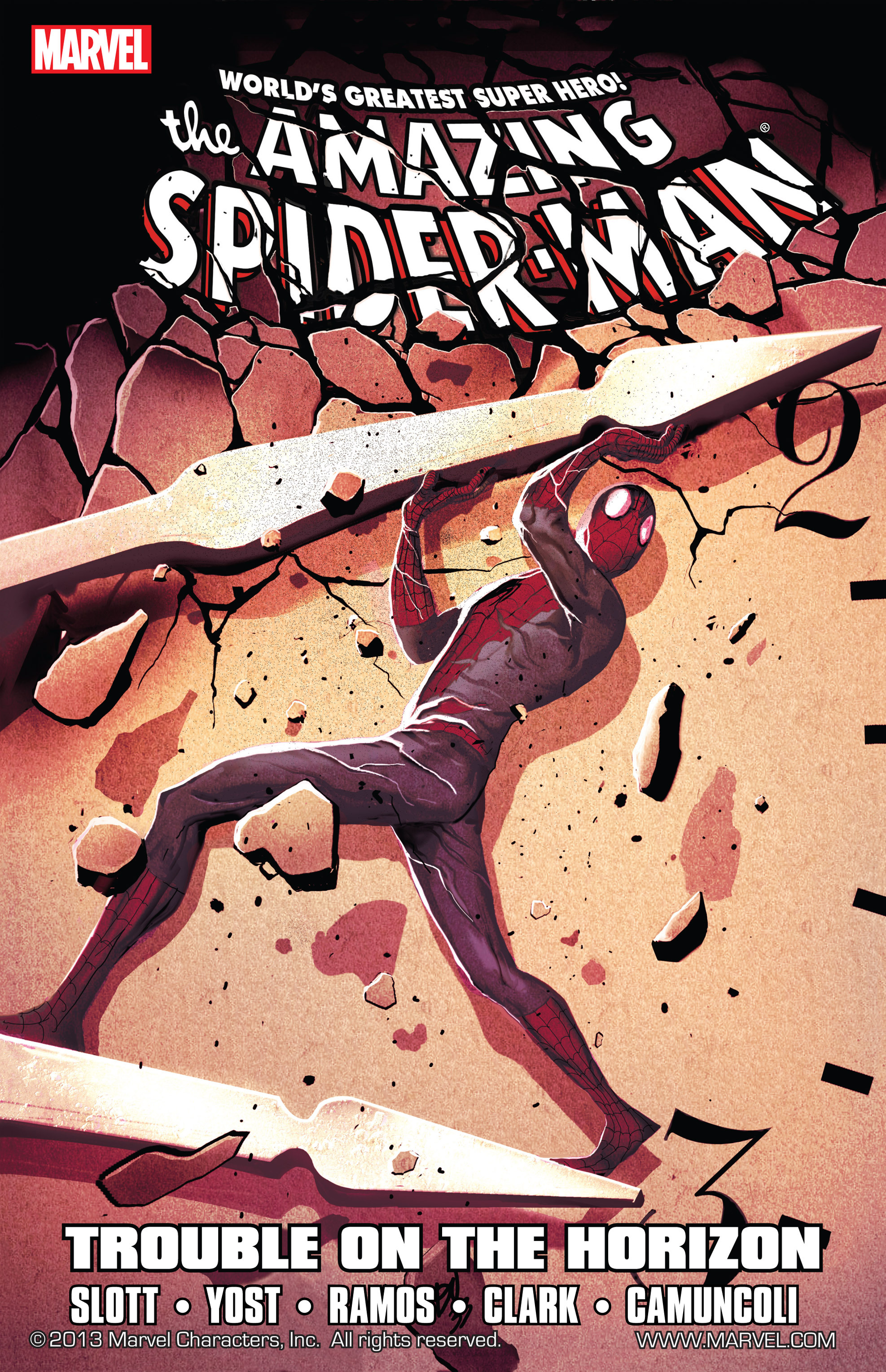 Spider-Man - Trouble On The Horizon #1
