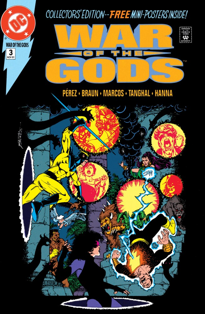 The War of the Gods #3