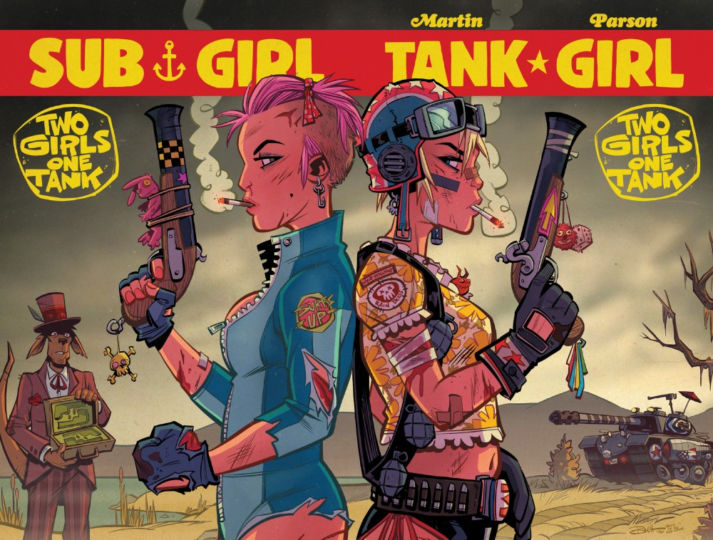 Tank Girl - Two Girls One Tank #04