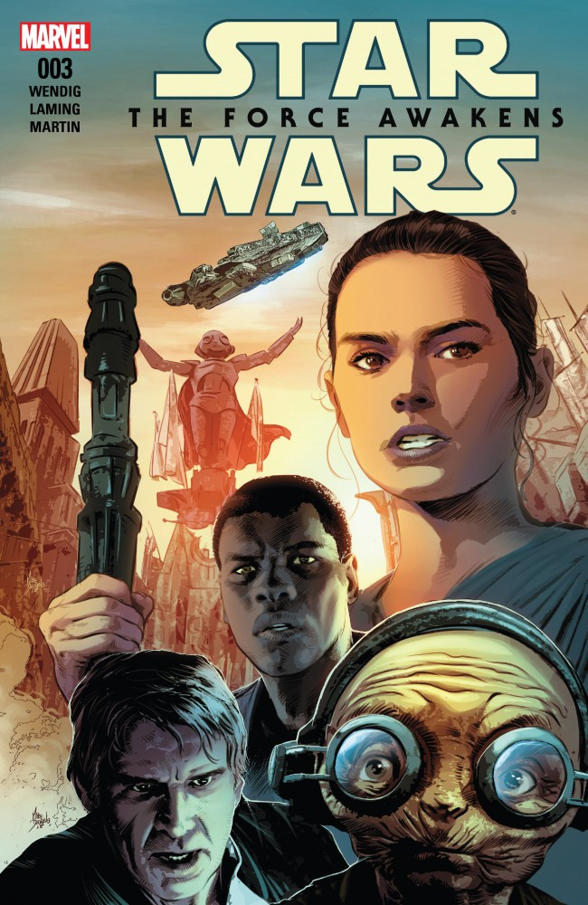 Star Wars - The Force Awakens Adaptation #3