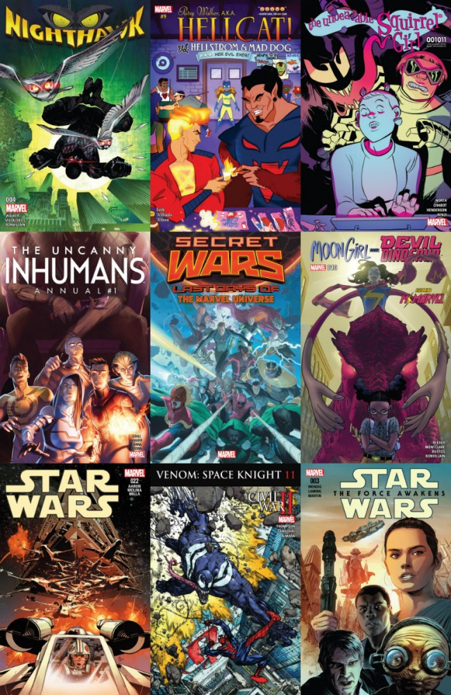Collection Marvel (24.08.2016, week 34)